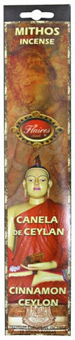 Ceylon's Cinnamon Mythos Positive Energy Incense - F-027 - 3 PACK - Museumize