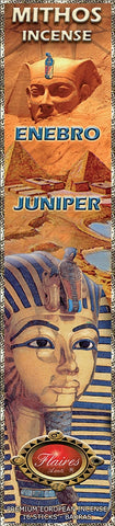 Egyptian Juniper Mythos Negative Energy Incense - F-083 - 3 PACK - Museumize