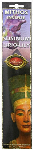 Museumize:Egyptian Lily Mythos Protection Incense by Flaires - 3 PACK