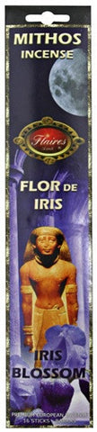 Iris Blossom Mythos Protection Incense Magnolia  Lilac - F-070 - 3 PACK - Museumize