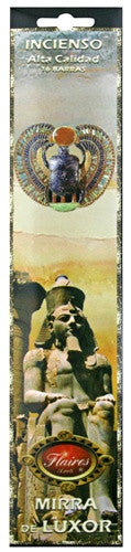 Museumize:Myrrh From Luxor Mythos Protection Incense - F-071 - 3 PACK
