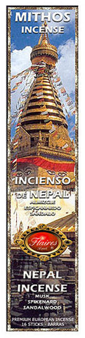 Nepali Mythos Relaxation Incense Spikenard  Salwood - F-019 - 3 PACK - Museumize