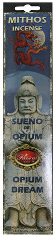 Opium Dream Mythos Relaxation Incense Cinnamon  Salwood - F-066 - 3 PACK - Museumize