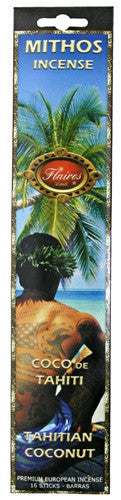 Museumize:Tahitian Coconut Mythos Sensual Incense Lemon  Rosa - F-050 - 3 PACK