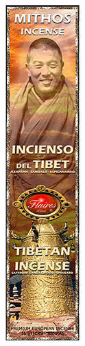 Museumize:Tibetan Mythos Meditiation Incense Spikenard  Salwood - F-018 - 3 PACK