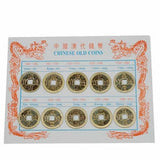 Ancient Chinese Round Coin Square Hole Replica Set 10 pieces - Museumize