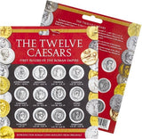 Ancient Roman Coin Replicas of Twelve Caesars Portraits Set - Museumize