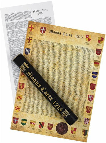 Museumize:Magna Carta Replica and Translation in Ceremonial Tube 23.4L