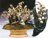 Faberge Lily of the Valley Pin from New Orleans Museum of Art - 4036 - Museumize  - 1