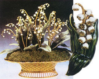 Faberge Lily of the Valley Pin from New Orleans Museum of ...
