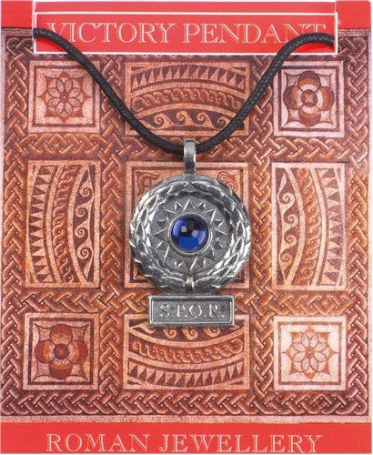 Museumize:SPQR Roman Victory Pendant Necklace Assorted Colors