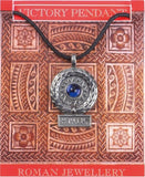 SPQR Roman Victory Pendant Necklace Assorted Colors - Museumize  - 1