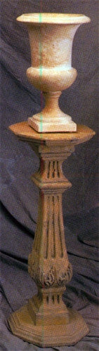 Museumize:Country French Pedestal Column Display 35.5H - 8485