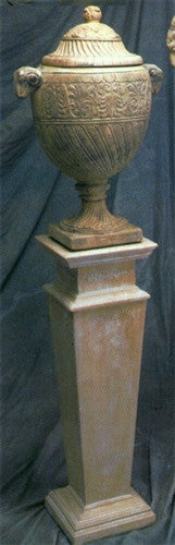 Museumize:Italian Square Sided Display Pedestal 35H - 8483