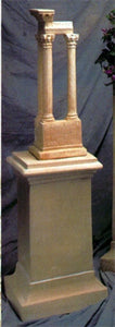 Museumize:Medium Square Pedestal Display 25H - 8487