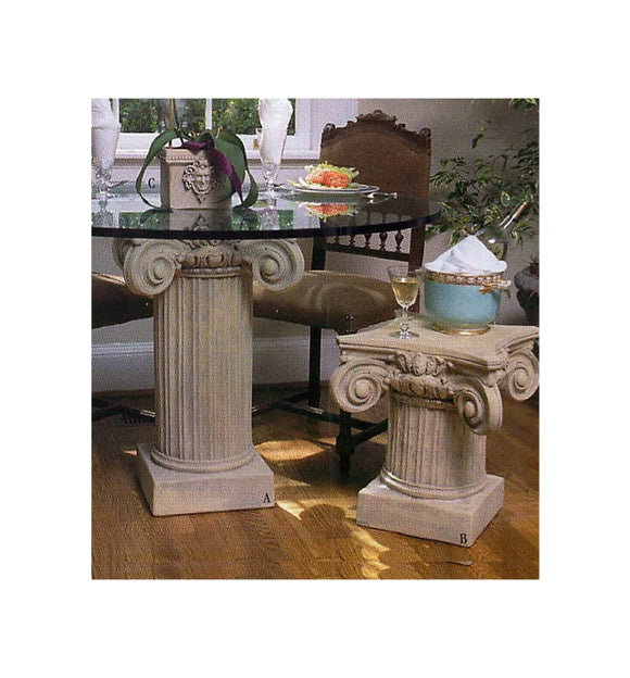 Museumize:Scamozzi Classical Column Cocktail Table Base 18H