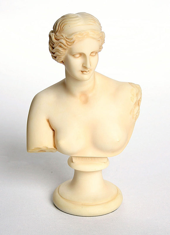 Museumize:Ancient Greek Goddess Love Venus de Milo Aphrodite of Melos Bust 9H