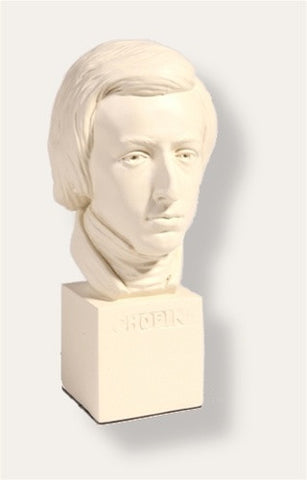 "Museumize:Chopin Music Composer Bust, 11""H - 745W"