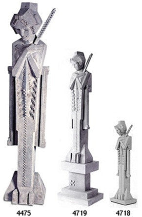Museumize:Frank Lloyd Wright Sprite Garden Statue with Baton, Assorted Sizes