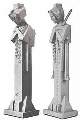 Museumize:Maid In The Mud Sprite Desktop Statues By Frank Lloyd Wright    5150