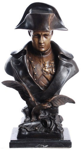Napoleon with Eagle Bust, Lost Wax Bronze - 7366 - Museumize  - 1