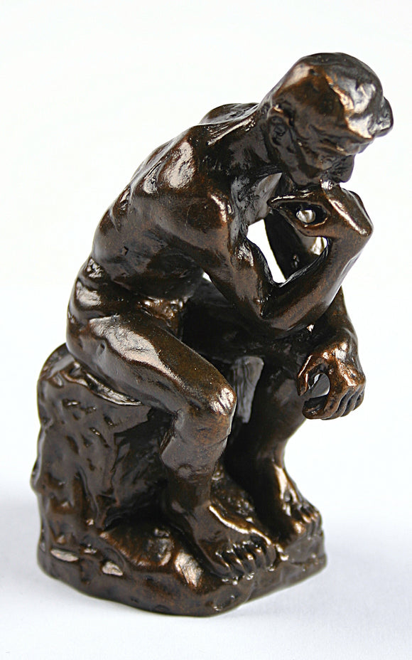 Museumize:Pocket Art Rodin The Thinker Miniature Statue Parastone 3.75H