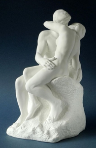 Museumize:The Kiss Statue Lovers Kissing by Auguste Rodin, Assorted Sizes
