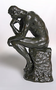 Museumize:The Thinker by Rodin Museum Replica Large Parastone 14H - RO16
