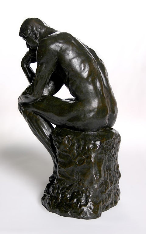 Thinker >> The Thinker Grande By Rodin Parastone Museum Store Reproductions