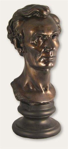 "Museumize:Young Abraham Lincoln Bust by Volk, 21""H - 710B_21"