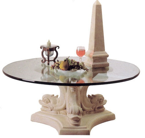 Museumize:Dolphin Triple Cocktail Table Base 17H - 4832