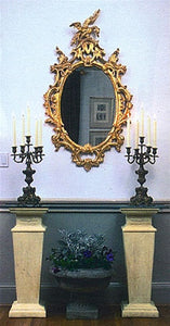 Museumize:Italian Square Hallway or Buffet Console 31H - 5009