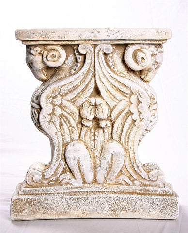 ... Museumize:Ram Head Cocktail Table Base, Pair 18.5H ...