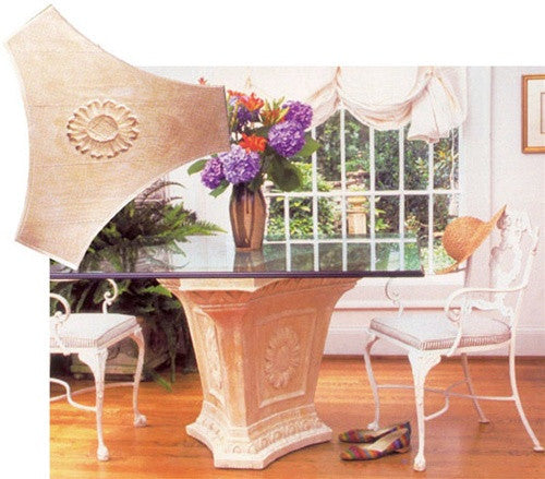 Museumize:Sunflower Grand Dining Table Base 28.5H - TAL703