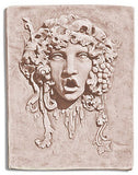 Museumize:Bacchus without Beard Relief Large, Cement for Garden 28H