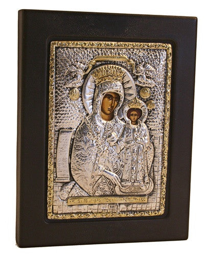 Museumize:Lady Of Kazan with Silver Devotional Icon 5.5H - I-017
