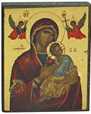 Our Lady of Perpetual Help Devotional Icon 2.75H - I-306 - Museumize