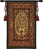 Museumize:Abundance Tapestry Fruit Tree Old World Deep Red 53H