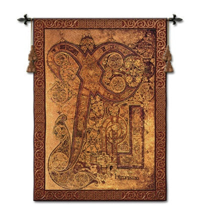 Chi Rho Book of Kells Tapestry - 6830 - Museumize