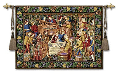 Museumize:La Vendanges Classic Tapestry - 6890