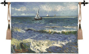 Museumize:Seascape Near Les Saintes Tapestry - 6800