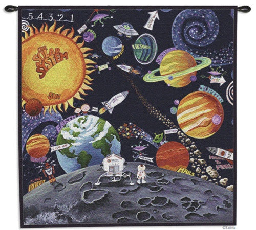 Museumize:Solar System Tapestry - 6778