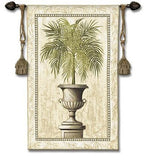Southern Exposure Tuscan Urn Greek Roman Classical Tapestry 53H - 8160 - Museumize