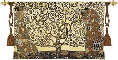 Museumize:Stoclet Frieze by Klimt Tapestry - 6783