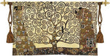Stoclet Frieze by Klimt Tapestry - 6783 - Museumize