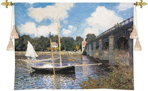 Museumize:The Bridge at Argenteuil Tapestry - 6801