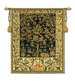 Tree Of Life Midnight Blue Classic Tapestry - 6889 - Museumize
