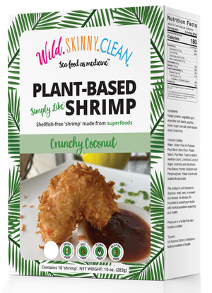 Wild.Skinny.Clean. launches their new Plant Based Crunchy Coconut 'Shrimp' onto Supermarket Shelves