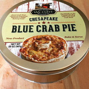 Chesapeake Blue Crab Pie - (1) Family Sized Pie- Serves 5