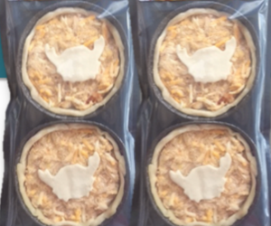 Chesapeake Blue Crab Pie - (4) 5oz. Pies